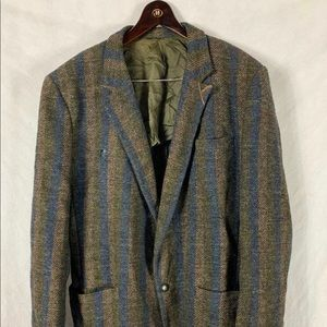 Versace Jackets & Coats - Vintage Gianni Versace Striped Mens Blazer Large